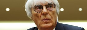 Was passiert mit Bernie Ecclestone?