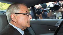 Peter Madoff nach seinem Geständnis vor einem New Yorker Gericht.