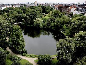 H.C.-Oersteds-Park in Kopenhagen.