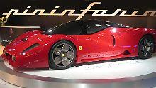 """Der auf dem Ferrari Enzo basierende """"P4/5 Pininfarina"""" stammt ebenfalls aus der Schmiede des Designers."""