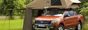 Mit einer zehn Zentimeter dicken Matratze kann es auf dem Dach des Ranger Camping richtig gemütlich werden.