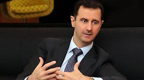 Assad macht dem türkischen Premier Erdogan schwere Vorwürfe.