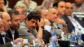 Die syrische Opposition zeigte sich bei ihrem Treffen äußerst zerstritten.