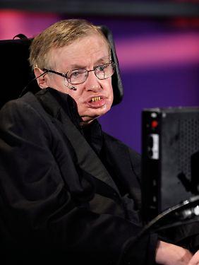 Stephen Hawking hatte nicht damit gerechnet, dass sich das Higgs-Boson nachweisen lässt.