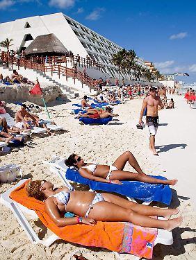Ohne den weißen Sandstrand würden viele Touristen wegbleiben.