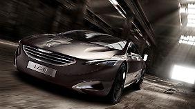 Die Studie HX 1 dient als Grundlage für Peugeots Shooting Brake.