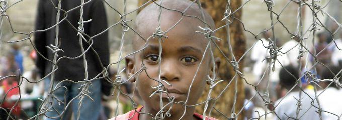 Flüchtlingslager Mugunga I in Goma, Kongo.