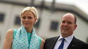Fürstenpaar von Monaco in Berlin: Gauck lädt zum Galadinner