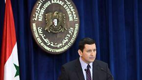 Angriffe der syrischen Armee: Assad-Regime bestreitet Schuld
