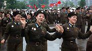 Nordkorea knows how to party: Kim lässt die Puppen tanzen