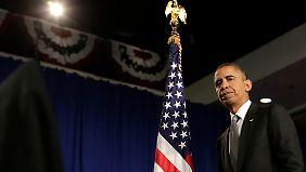 """Obama plant """"vernünftige Gesetze"""", die das Recht auf Waffen und das Recht auf Sicherheit beinhalten."""