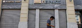 Bei griechischen Banken stehen Unternehmen für Kredite in der Regel vor geschlossenen Türen.