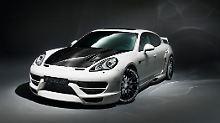 Aufgemotzer Porsche: der Cyrano von Hamann.