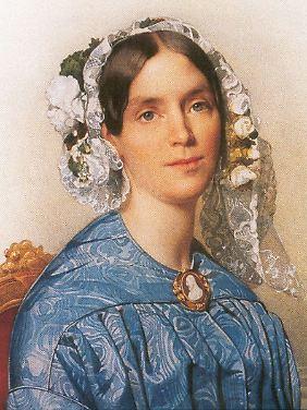 Wilhelmina Frederica Louisa Charlotte Marianne van Oranje-Nassau (von Johan Philip Koelman, 1846)