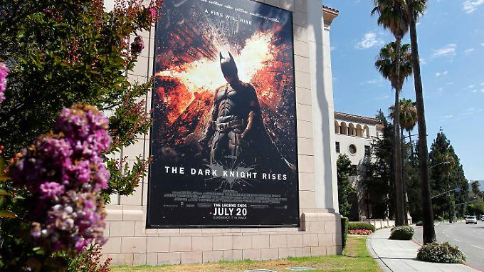 """Bei Vorführungen des neuen """"Batman""""-Streifens herrscht seit Aurora erhöhte Wachsamkeit."""