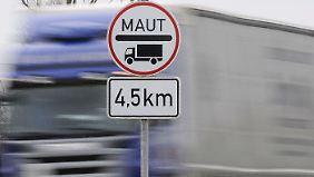 Diskussion über Ausweitung: Lkw-Maut startet auf Bundesstraßen