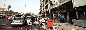 In Bagdad wurden in den vergangenen Wochen Dutzende Anschläge verübt.