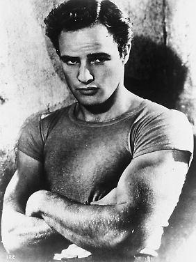 Der angry young man: Marlon Brando.
