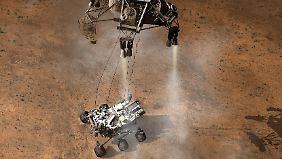 """NASA-Meisterstück im All: Mars-Rover """"Curiosity"""" landet sicher"""