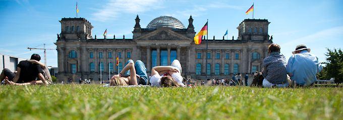 Keine Zeit zum Zurücklehnen: Deutschland herrscht nicht ewig Sommer.