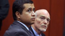<b>George Zimmermann</b> ist Mitglied einer Bürgerwehr. Trayvon Martin wurde das im ... - DAB4382-20120809
