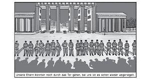 Am 9. November 1989 wird die Mauer geöffnet - zumindest zeitweise.