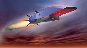 """Testfehlschlag beim Prototyp """"Waverider"""": Hyperschall-Jet stürzt ab"""