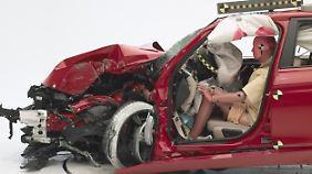 Der 3er von BMW bietet nach dem Testergebnis nur einen marginalen Schutz.