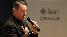 Oracle-Boss Larry Ellison hat die Sun-Übernahme gestemmt.