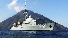Deutsche Hilfe für Rebellen?: Spionageschiff kreuzt vor Syrien