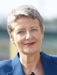 Die Bundestagsabgeordnete Marieluise Beck.