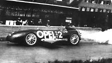 Legenden aus der Blitzwerkstatt: Opel feiert 150.