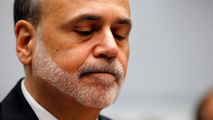 Momentan sieht es nicht danach aus, als ob Ben Bernanke um seinen Posten kämpfen würde.