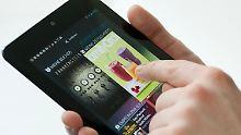 Das Nexus 7 ist das bestverkaufte Android-Tablet aller Zeiten, zumindest in Großbritannien.