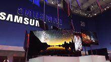 Neben Tab und Smartphone setzt Samsung auf seinen neuen OLED Fernseher.
