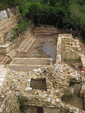 ... kürzlich entdeckt in Plan de Ayutla in Ocosingo, Chiapas, Mexiko.