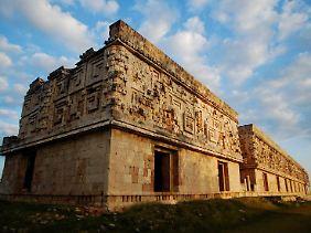 Maya-Bau in Uxmal, Yucatan.