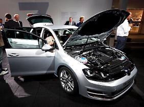 Als eines der ersten Modelle wird das Auto auf Basis des Modularen Querbaukasten gebaut.