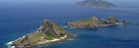Unbewohnt, aber beliebt: die Senkadu-Inseln im Ostchinesischen Meer.