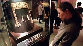 Die Beutekunst ist im Moskauer Puschkin-Museum ausgestellt.