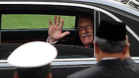 Marktwirtschaftliche Unbeirrbarkeit: der tschechische Präsident Václav Klaus.