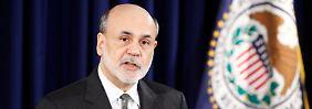 Keine schnelle Wende in Sicht: Ben Bernanke erläutert die Lage.