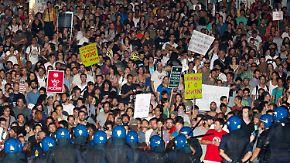 """Massenproteste in Spanien und Portugal: Volk wünscht Troika """"zum Teufel"""""""