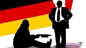 Neuer Armuts-und Reichtumsbericht: Kluft in Deutschland wächst rapide