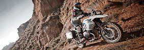 Die Reiseenduro R 1200 GS von BMW führt die Liste der meistverkauften Motorräder an.