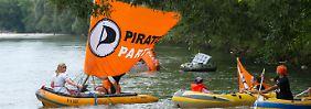 Die Piratenpartei hat ihren Kurs noch nicht gefunden.