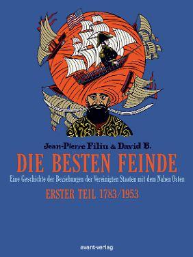 """""""Die besten Feinde"""" ist im Avant-Verlag erschienen. Das Hardcover hat 120 Seiten und kostet 19,95 Euro (D)."""