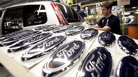 Sinkende Verkaufszahlen: Ford streicht Stellen in Europa