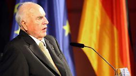 "CDU feiert ""Kanzler der Einheit"": Kohl mahnt, Europa auszubauen"