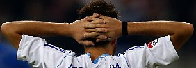 Blöd gelaufen: Schalkes Tranquillo Barnetta nach der Partie in Düsseldorf.